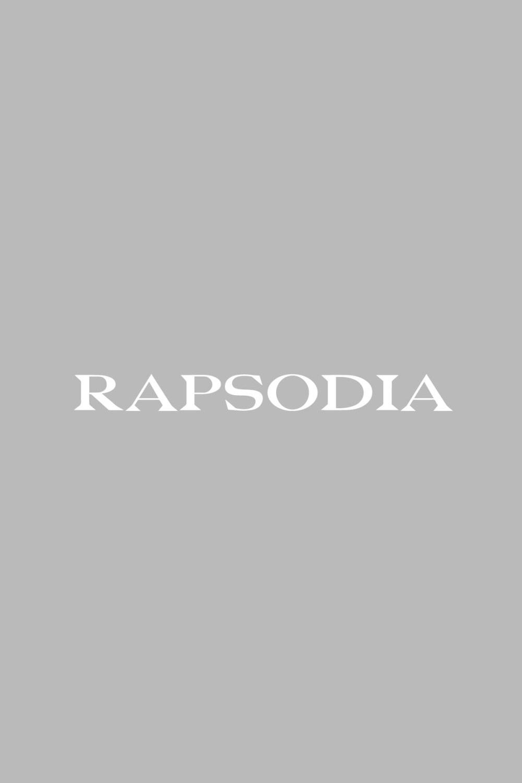 Vestido negro rapsodia